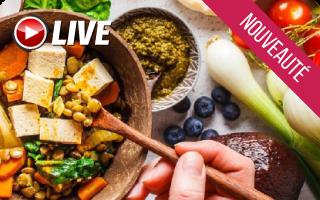 webinaire : des conseils pour une alimentation équilibrée végétarienne | Elisa Cloteau