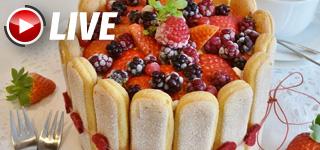 Un grand classique fruité : Charlotte aux fruits rouges | Valérie Malard